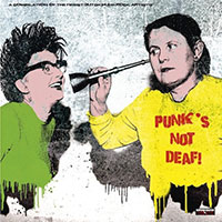 "Album cover: ""Punk's not Deaf"""